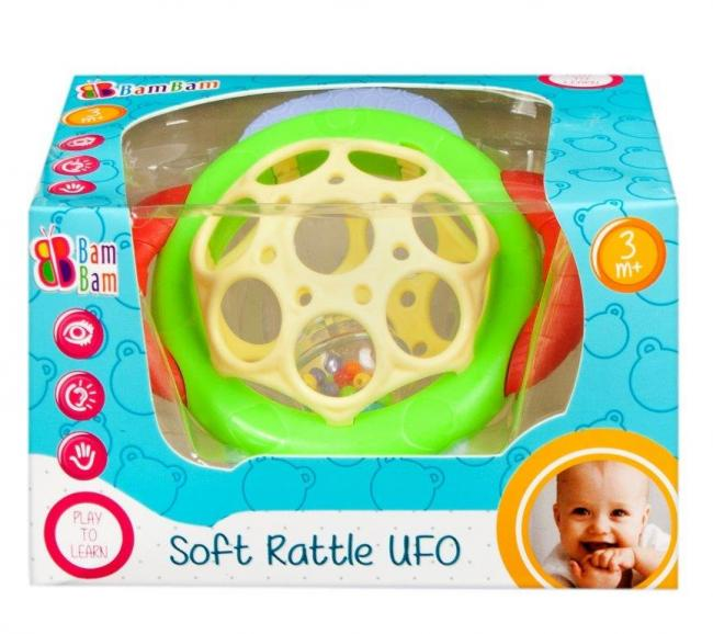 MIĘKKA GRZECHOTKA UFO